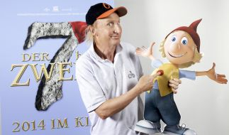 Otto Waalkes ist in «Der 7bte Zwerg» das erste Mal als Animationsfigur zu sehen. (Foto)