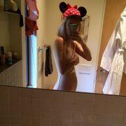 Welche Promi-Tochter zeigt sich als nackte Minnie Maus? (Foto)