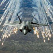 Luftschläge gegen Öl-Anlagen des IS (Foto)