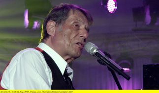 So kennt man ihn: Udo Jürgens am Piano. (Foto)
