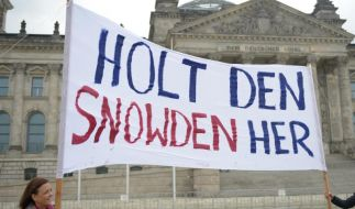 Karlsruhe soll über Snowden-Vernehmung in Berlin entscheiden (Foto)