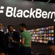 Blackberry rutscht wegen Abschreibung tief in rote Zahlen (Foto)