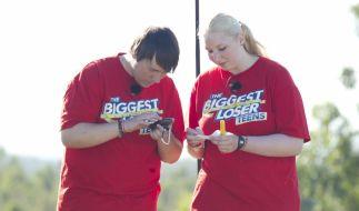 Bei The Biggest Loser Teens jagt eine Challenge jagt die nächste: Laura und Patrick beim Geocaching. (Foto)