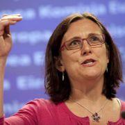 Neue EU-Kommissarin bereit zu TTIP-Kurswechsel (Foto)
