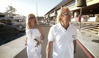 Robert und Carmen Geiss auf Mallorca. (Foto)