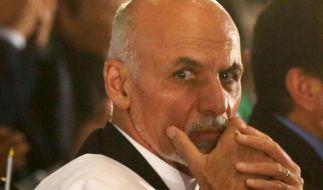 Afghanistans neuer Präsident beschleunigt Sicherheitsabkommen (Foto)