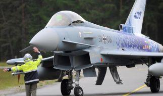 Hersteller warnt vor Mängeln am «Eurofighter» (Foto)