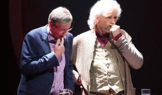 Günther Jauch (l.) und Thomas Gottschalk konnten sich erneut beweisen. (Foto)