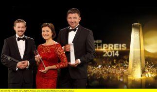 Die 16. Verleihung des Deutschen Fernsehpreises 2014 soll eine glamouröse Gala werden. (Foto)