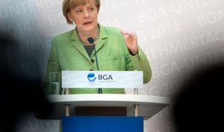 Merkel warnt vor Wiederaufflammen der Euro-Krise (Foto)