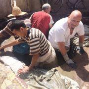 Tortur in Marrakesch! Wer ist hier die Ziege? (Foto)