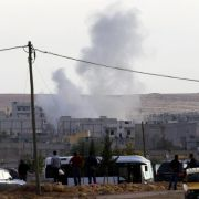 Internationale Koalition bombardiert IS bei Kobane (Foto)