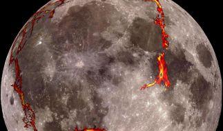 Forscher: Der «Mann im Mond» hat vulkanischen Ursprung (Foto)