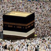 Millionen Muslime zum Hadsch in Mekka (Foto)
