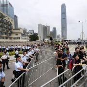 Hongkongs Polizei warnt Aktivisten (Foto)
