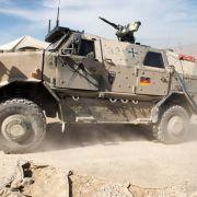 Bundesregierung genehmigt Rüstungsexporte an arabische Staaten (Foto)