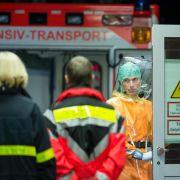 Ebola-Kranker auf Isolierstation in Frankfurter Klinik (Foto)