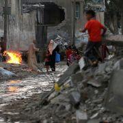 Palästinenser möchten vierMilliarden Dollar Aufbauhilfe (Foto)