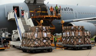 Bundeswehr startet Flüge ins Ebola-Gebiet (Foto)