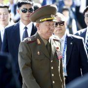 Vorsichtige Annäherung zwischen Süd- und Nordkorea (Foto)