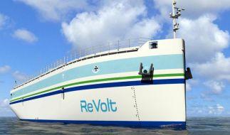 Batteriegetriebenes Konzeptschiff fährt ohne Besatzung (Foto)