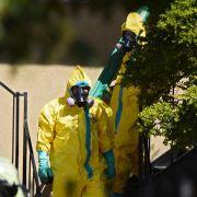 Zustand von Ebola-Patient in den USAverschlechtert sich (Foto)