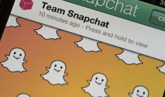 Yahoo will bei Foto-Dienst Snapchat einsteigen (Foto)