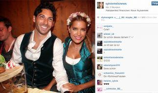 Sylvie Meis zeigt ihre neue Liebe Samuel Deutsch. (Foto)