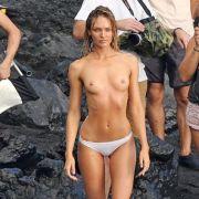Candice macht sich für Victoria's Secret nackig (Foto)