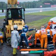 Formel-1-Pilot Jules Bianchi verunglückte beim Großen Preis von Japan 2014 schwer.