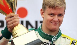 Musste sich mit Platz zwei begnügen: Michael Schumachers Sohn Mick. (Foto)