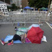 Vor Dialog: Studenten kritisieren Hongkonger Regierung (Foto)