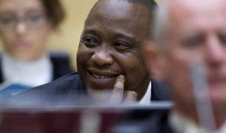 Kenyatta als erster Staatschef vor dem Weltstrafgericht (Foto)