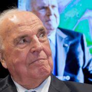 Kohl stellt Buch vor - zu seinem Ghostwriter sagt er nichts (Foto)