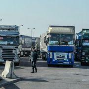 Deutscher Hilfskonvoi erreicht Kiew (Foto)