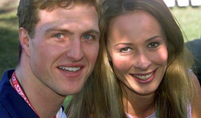 Süßes Paar: Ralf und Cora Schumacher. (Foto)