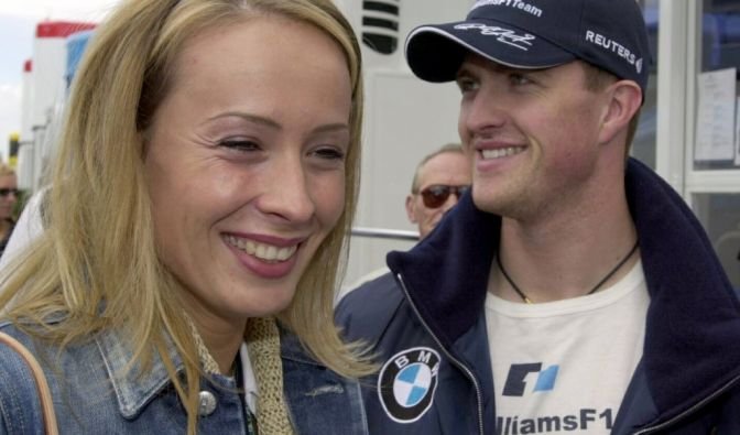 Cora und Ralf Schumacher beim Training