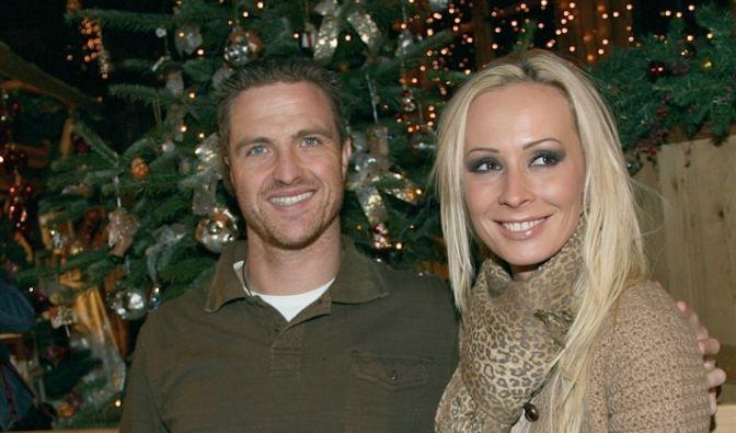 Cora und Ralf Schumacher auf dem Weihnachtsmarkt