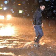 Mindestens ein Toter bei heftigen Unwettern in Genua (Foto)