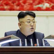 Rätselraten über Nordkoreas Machthaber KimJong Un (Foto)