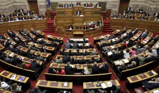 Griechisches Parlament spricht der Regierung das Vertrauen aus (Foto)