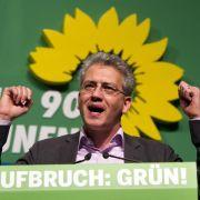 Grüne Minister loben Schwarz-Grün in Hessen (Foto)
