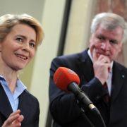 Seehofer kritisiert Leyens Vorgängerschelte (Foto)
