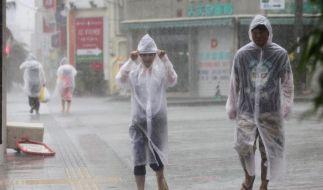 Taifun trennt 50 000 japanische Haushalte vom Stromnetz (Foto)