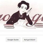 Jüdische Freiheitskämpferin als Google Doodle (Foto)