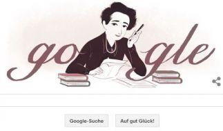 Google Doodle heute: Hannah Arendt. (Foto)