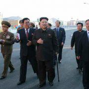 Nordkoreas Machthaber wieder aufgetaucht (Foto)