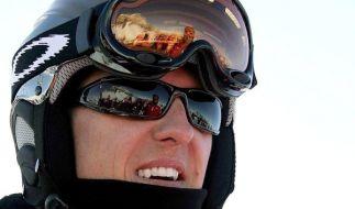 Bei seinem Skiunfall trug Michael Schumacher eine Helmkamera - verschlimmerte diese den Aufprall und die damit einhergehenden Kopfverletzungen? (Foto)