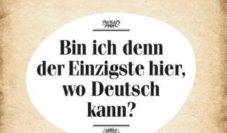 Was ist Schuld am Niedergang unserer Sprache? Andreas Hock geht dem auf die Spur. (Foto)