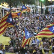 Katalanen verzichten auf Referendum über Unabhängigkeit (Foto)